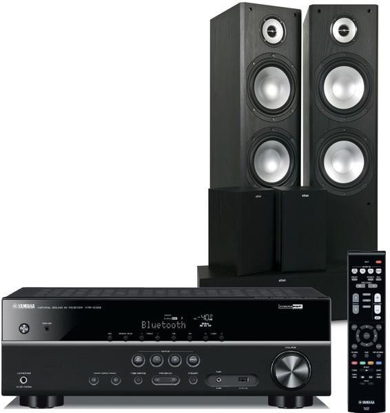 Pack Ampli Yamaha HTR-3068 + Enceintes Eltax Idaho 5.0 - Noir