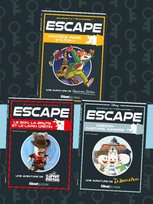 3 Mini Aventures de la collection Escape gratuit (Dématérialisé - Glenat.com)