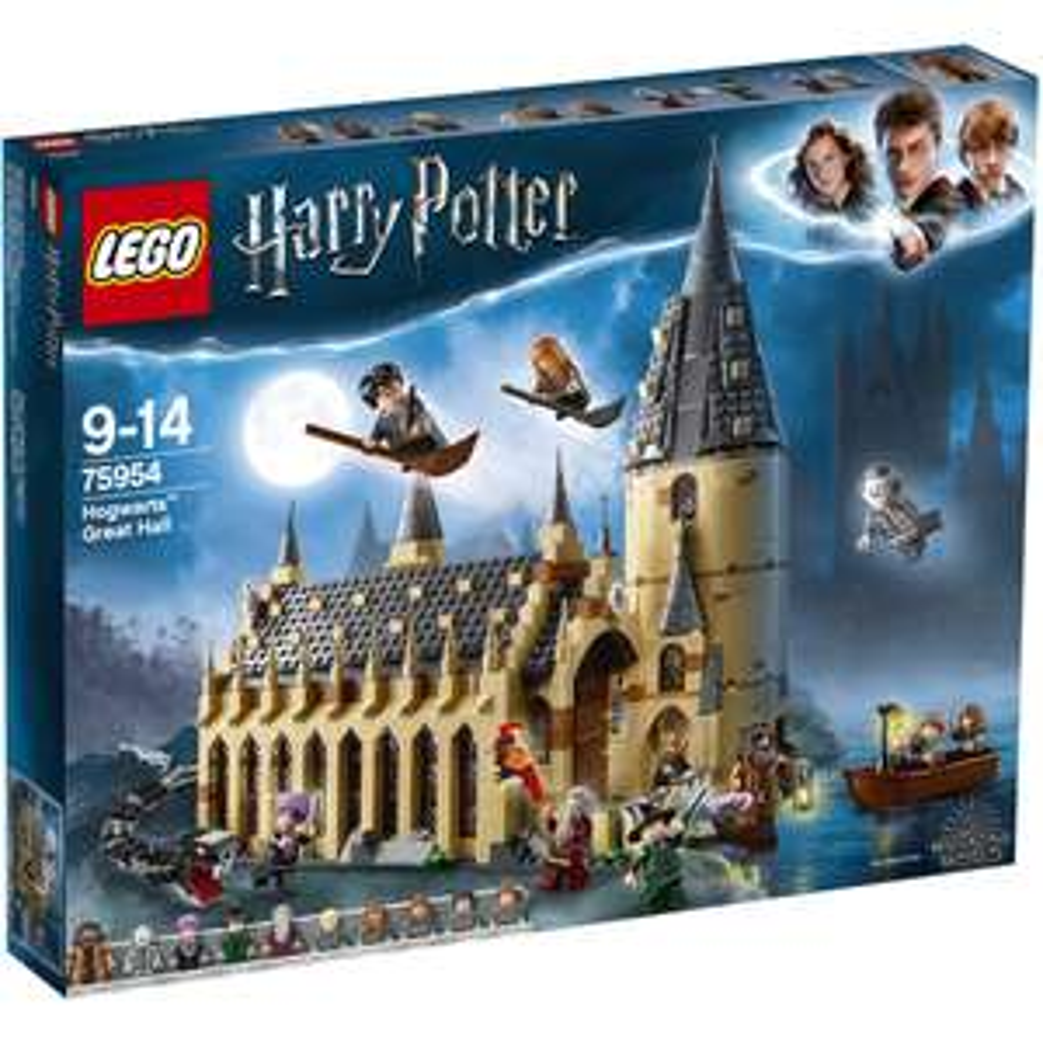 Sélection de Lego en promotion - Ex : Harry Potter 75954 - La Grande Salle du château de Poudlard