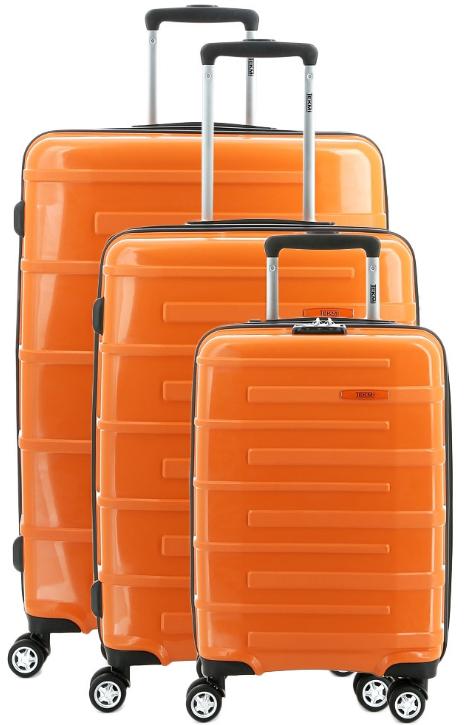 15% de réduction immédiate sur les valises Tekmi à l'unité & 10% sur les lots - Ex: Lot de 3 Valises Joker Orange à 184.09