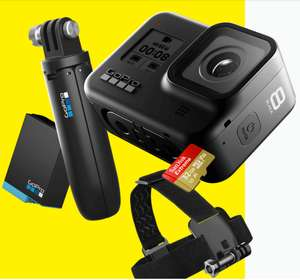 Pack Caméra sportive GoPro Hero 8 Black + Accessoires