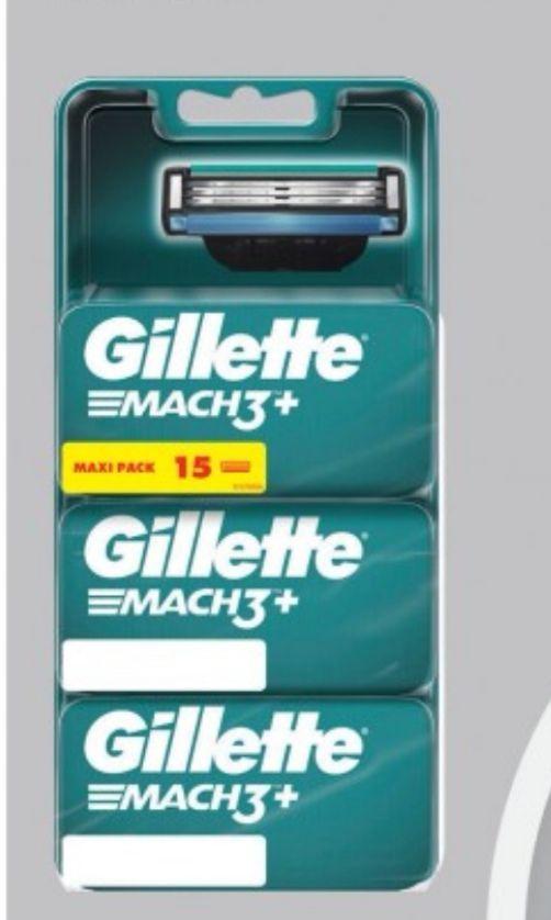Sélection de produits en promotion - Ex: Lot de 15 lames Gillette Mach3 (Via avantage carte de 22,23€ sur carte de fidélité)
