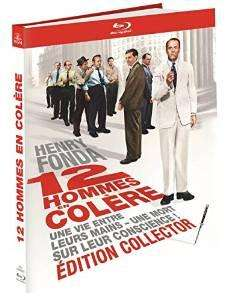 12 hommes en colère - Edition Collector  (Blu ray + DVD + Livret)