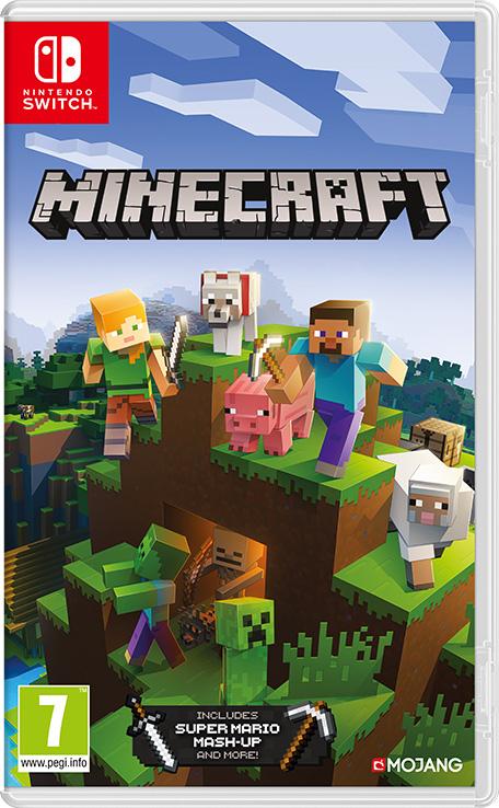 Minecraft sur Nintendo Switch (Dématérialisé - Shop Afrique du Sud)