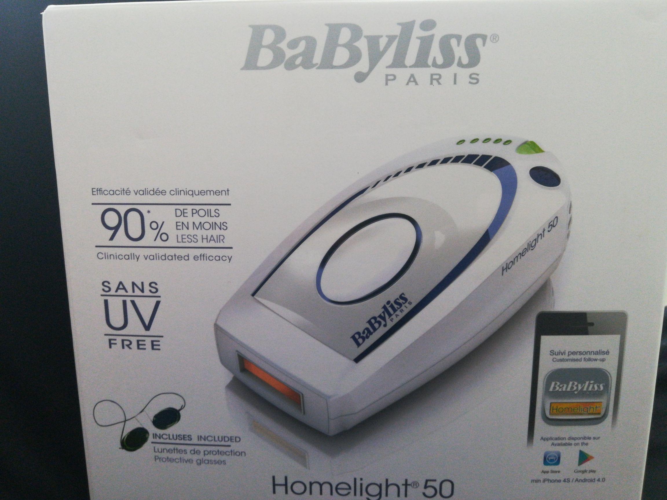 Epilateur à lumière pulsée BaByliss Homelight 50 G932E - Ales (30)