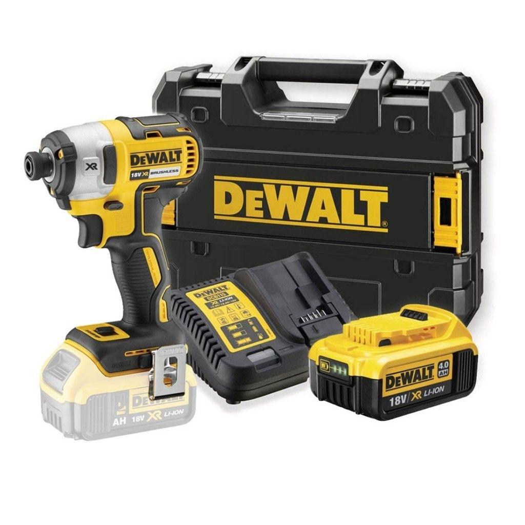 Visseuse à Chocs Dewalt DCF887P1 18V - 1 Batterie 5Ah + Box de rangement (toolsense.co.uk)