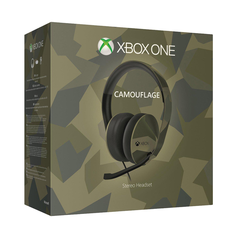 Casque avec micro Microsoft pour Xbox One compatible PS4 / téléphone / tablette