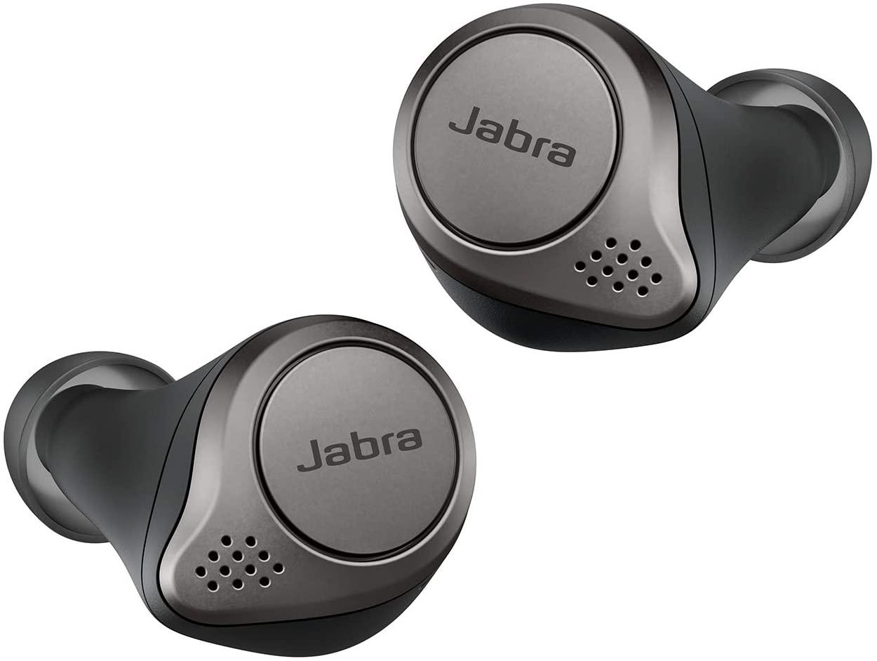Écouteurs intra-auriculaires Sans-fil Jabra Elite 75T - True Wireless, Bluetooth, Noir titane