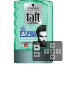 Gel  coiffant Taft Schwarzkopf - Effet mouillé (BDR de 1.5€)