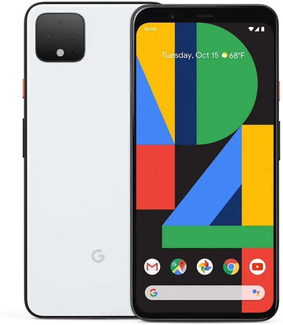 "Smartphone 5.7"" Google Pixel 4 - 64 Go ROM, Blanc"