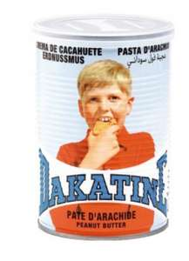 Pot de beurre de cacahuète Dakatine - 425 Gr