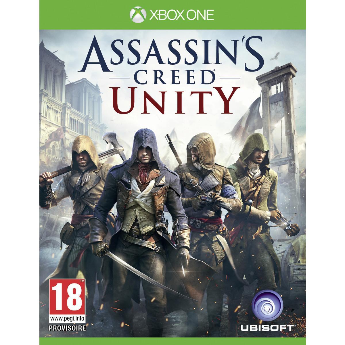 Sélection de jeux video Xbox One et PS4 en promotion - Ex : Assassin's Creed : Unity