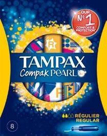 Sélection de produits en promotion - Ex : Tampax Compak Pearl