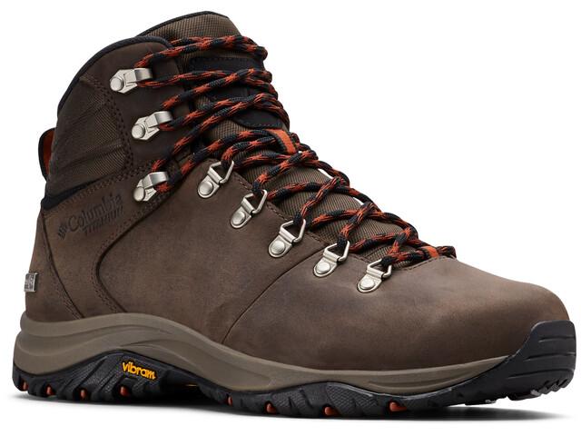 Chaussures Randonée Columbia 100MW Titanium - Cuir pour Homme