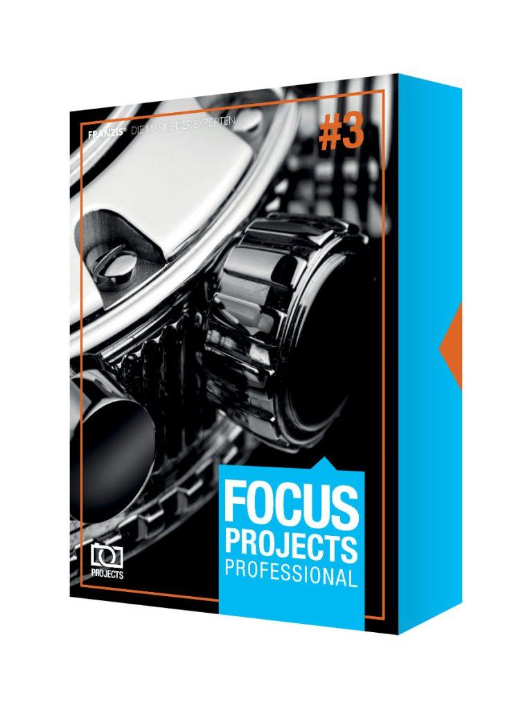 Logiciel Focus Projects 3 Professional Gratuit (Dématérialisé)