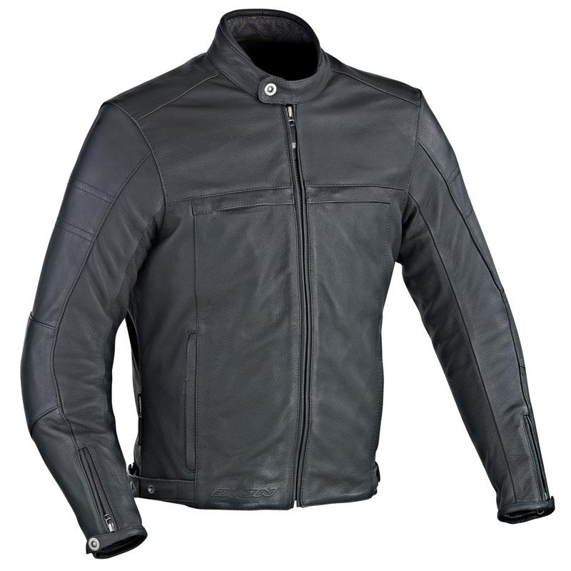 Blouson de moto en cuir Ixon Copper Slick - Tailles S à XXXL