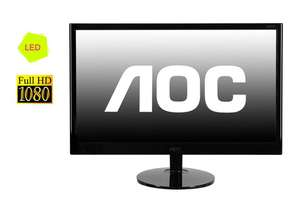 "Ecran PC 22"" AOC E2251FWU Full HD USB LED"