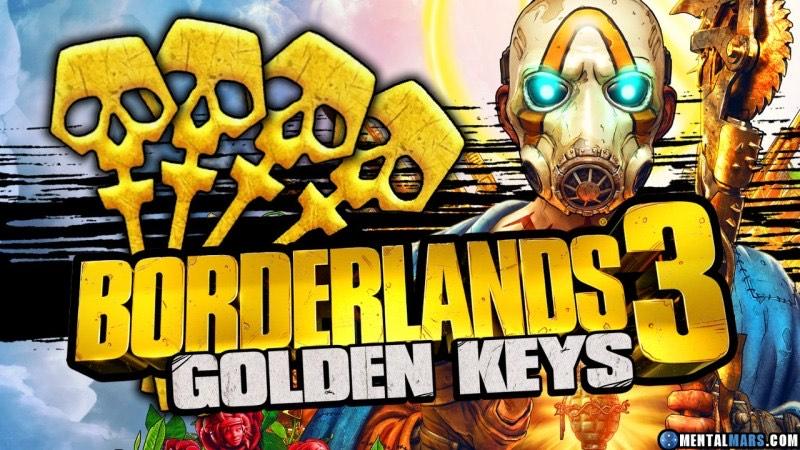 3 Clés Or offertes pour Borderlands 3 sur PS4 / PC / Xbox One (Dématérialisé)