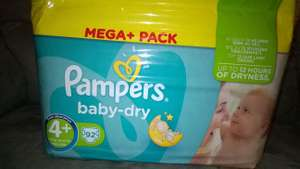 Couche Pampers baby dry à -50%