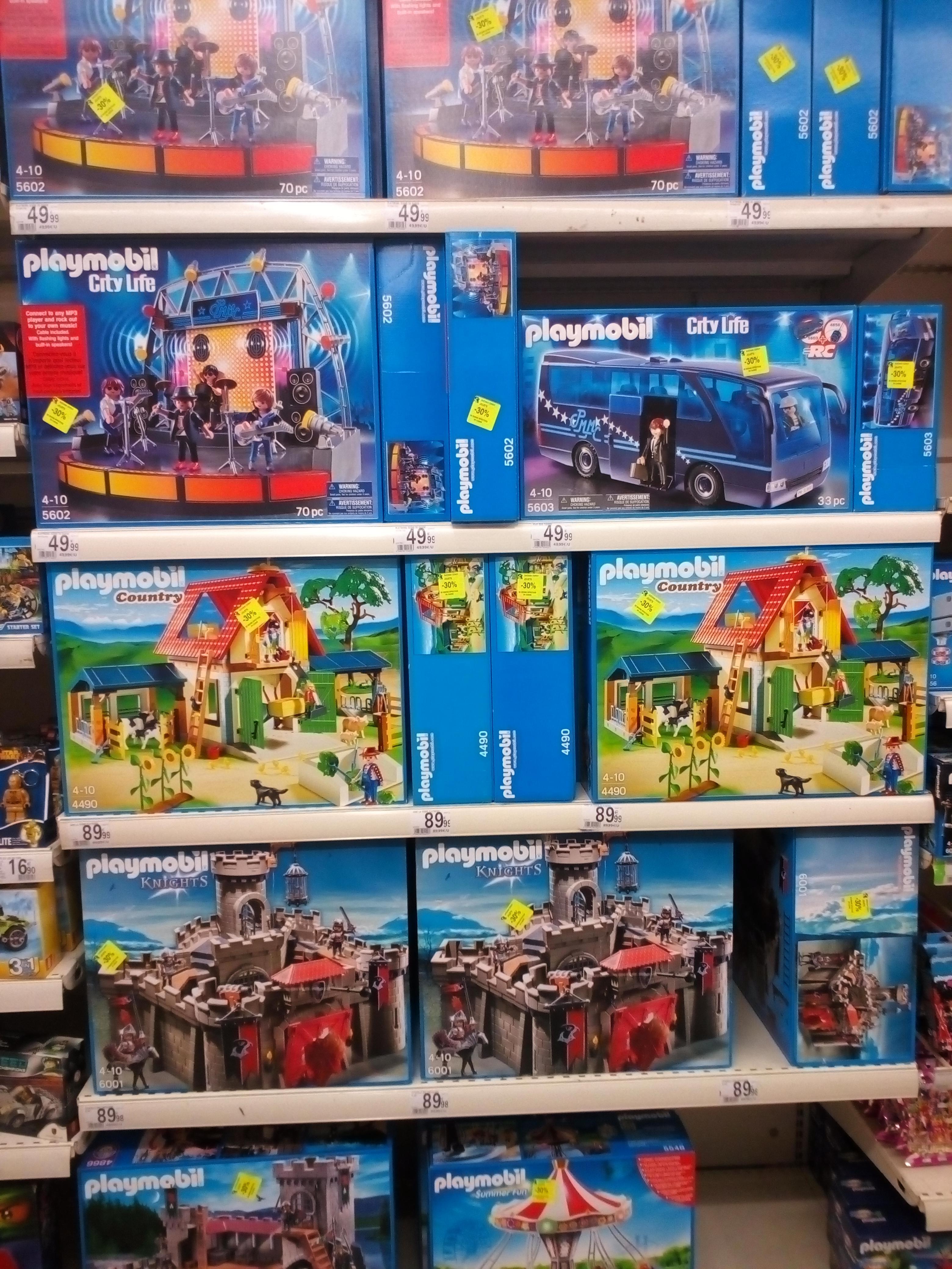 Sélection de Playmobil à -30% - Ex : Citadelle Des Chevaliers Aigle