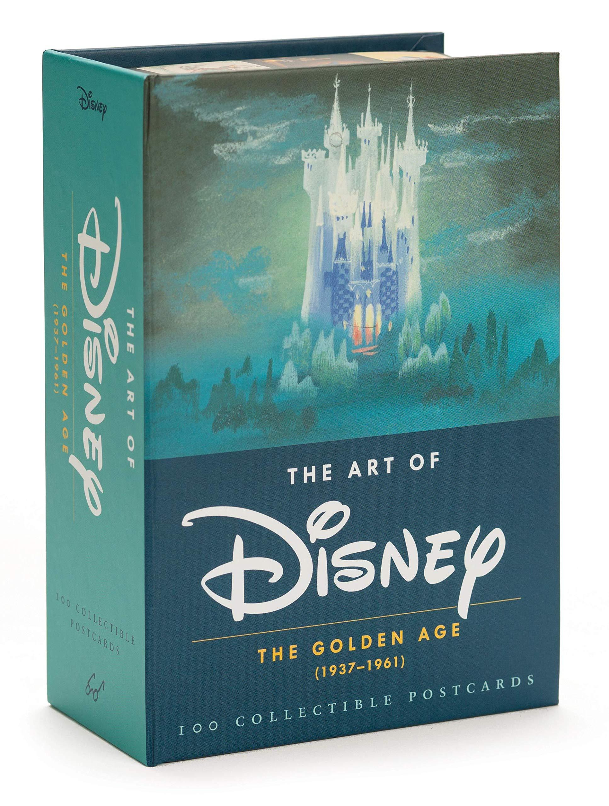 Coffret Box Collector Disney Postcards 1937-1961 : 100 Cartes Postale Exclusive