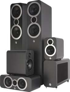 Pack Enceintes HomeCinéma Q Acoustics 3050I Cinema Pack 5.1