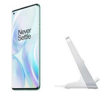 "[Précommande] Smartphone 6.78"" OnePlus 8 Pro (Vert) - 12Go RAM, 256Go ROM - 5G + Chargeur sans-fil OnePlus Warp Charge 30 - Blanc"