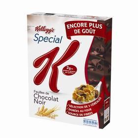 Lot de 2 paquets de céréales Spécial K (saveur au choix) - 550g (via BDR et C-wallet)