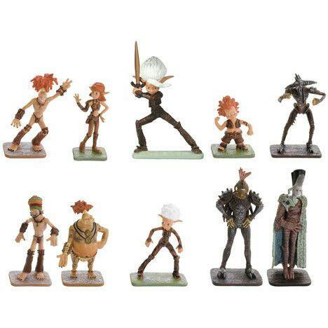 Pack de 10 figurines Arthur Landsay