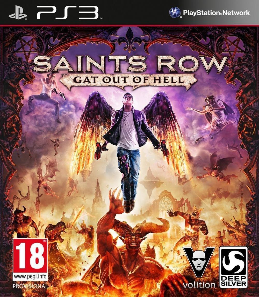 Saints Row IV : Gat out of Hell - édition première  sur PS3 et Xbox 360