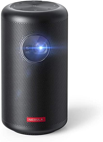 Mini-projecteur Anker Nebula Capsule Max - Wi-Fi, 200 lumens ANSI, 720p, Android 8.1 (vendeur tiers)