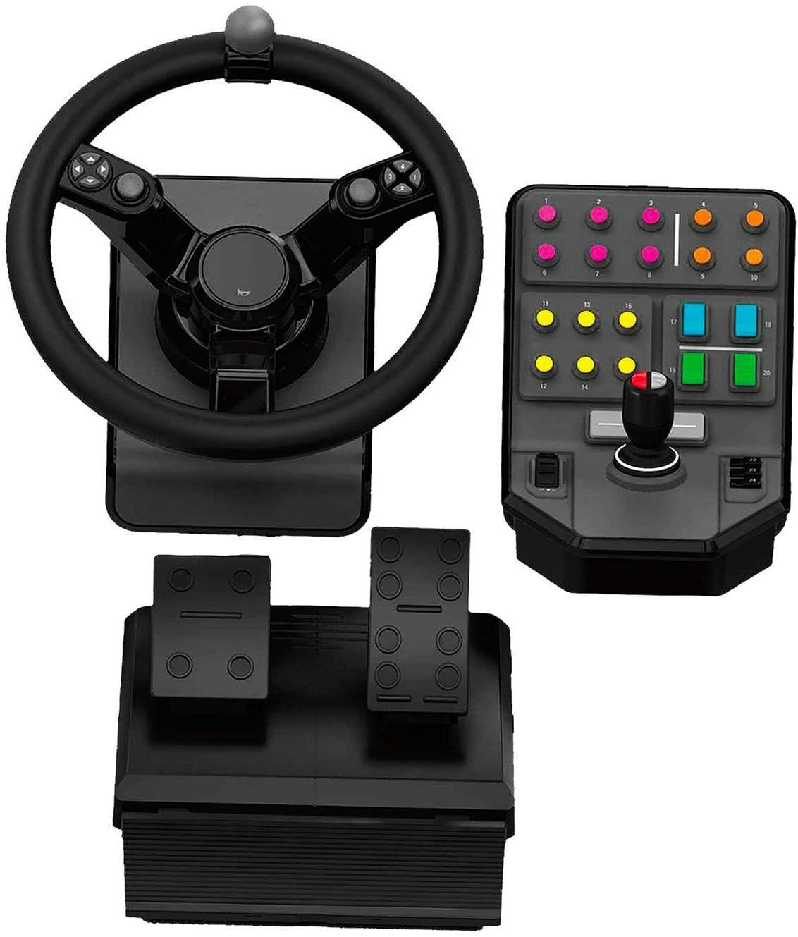 Pack Logitech G Saitek Farming Simulator Controller