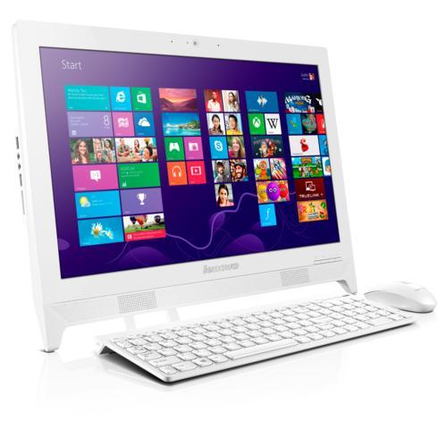 "PC Tout-en-un 20"" Lenovo C260 (Intel® Celeron J1900 - HDD 500 Go - RAM 4 Go - Windows 10)"