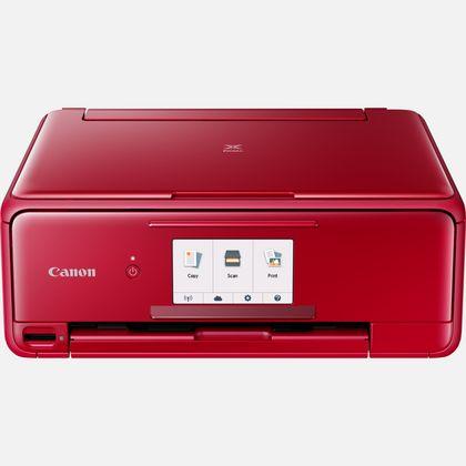 Imprimante multifonction Canon Pixma TS8152 - Rouge