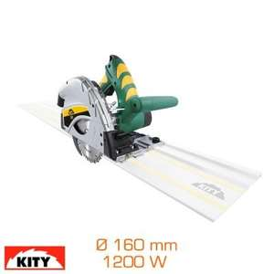 Scie plongeante Kity 550 - 1200W, diamètre 160 mm