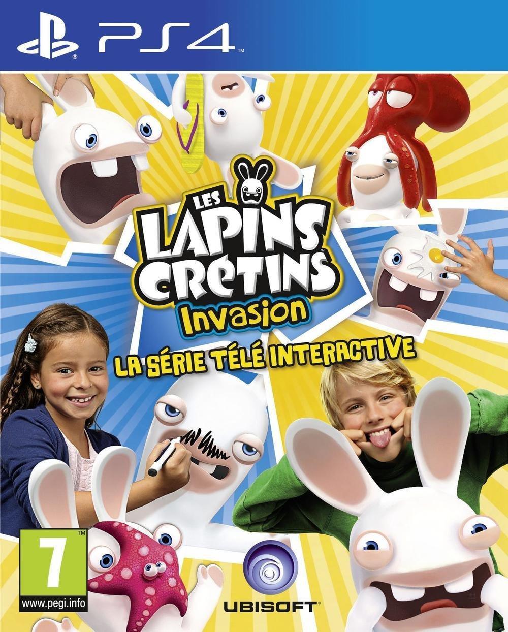 Jeu Les Lapins Crétins Invasion - la série télé interactive sur PS4