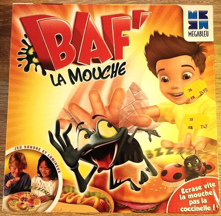 """Jeu de société """"Baf' la Mouche"""" de MégaBleu"""