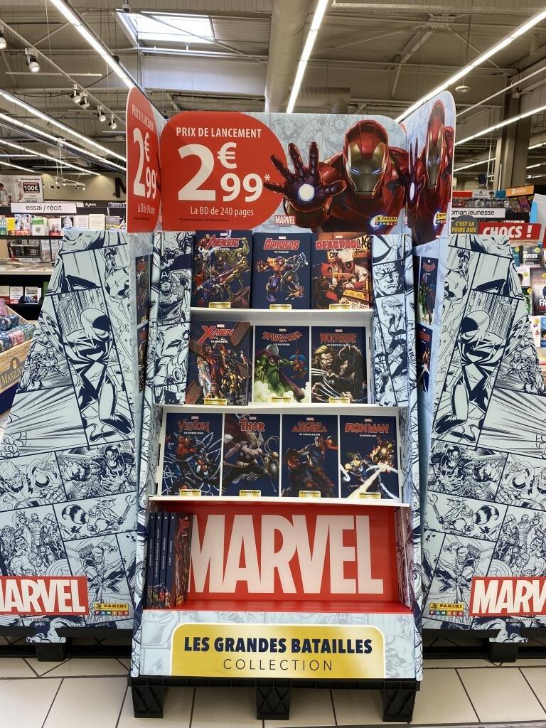 Sélection de comics Marvel (Avengers, Les Gardiens de la Galaxie, Spider-Man, Venom et X-Men) à 2.99€