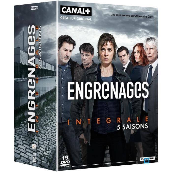 Coffret DVD : Engrenages L'intégrale 5 Saisons