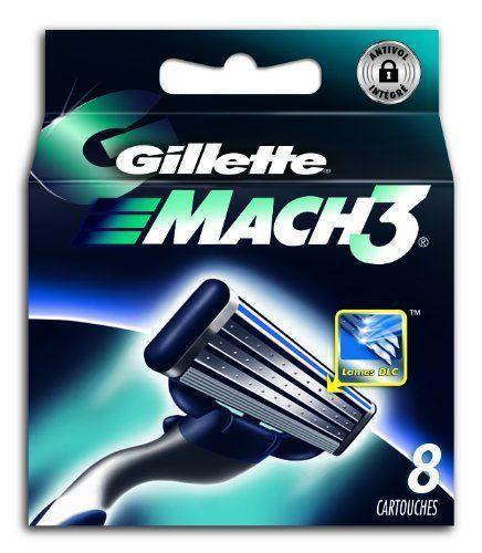 Sélection de pack de lames de rasoir - Ex - 8 Lames de rasoir Gillette Mach3