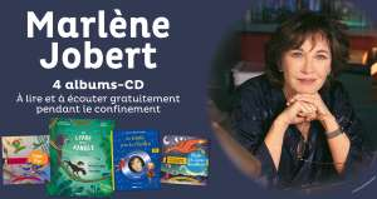 Sélection de 4 livres audio pour les enfants lus par Marlene Jobert gratuits - Ex : le livre de la Jungle (Dématérialisés - glenat.com)