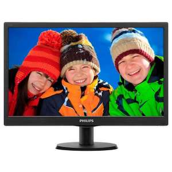 "Ecran PC 19"" Philips 193V5LSB2/10 - 1366x768, Dalle TFT, 60 Hz, 5 ms"