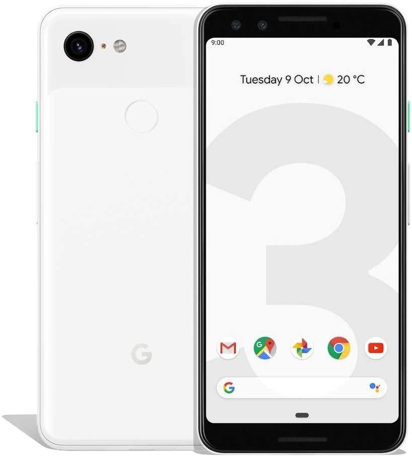 "Smartphone 5.5"" Google Pixel 3 - FHD+ OLED, S845, 4/64 Go + 17,45€ en Super Points (318,97€ avec RAKUTEN30)"