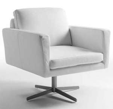 Fauteuil Design Daisy - Noir ou Blanc