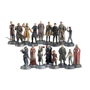 Lot de 17 figurines Eaglemoss Game of Thrones (Lot n°2)