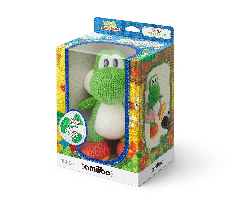Amiibo Yoshi's Wolly World - Mega Yoshi de laine