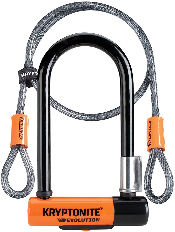 Antivol Kryptonite U Evolution Mini-7 U-Lock + câble