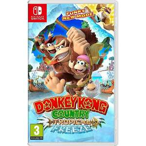 Donkey Kong Country: Tropical Freeze sur Switch