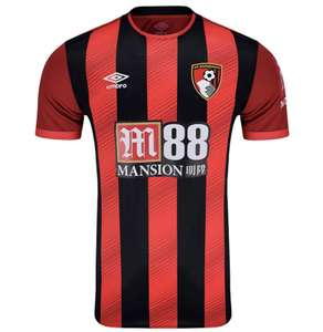 Maillot de football Umbro Bournemouth 19/20 - taille S (frais de port inclus) - SuperStore.AFCB.co.uk