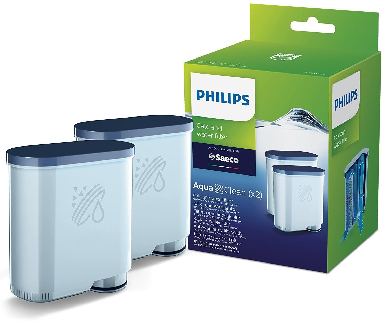 Lot de 2 Filtres eau et calcaire Philips Aqua Clean CA6903/22